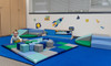 Children's Factory Snuggle Corner Set – Contemporary, CF810-012