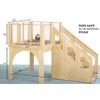 Jonti-Craft Tots Play Loft - 24-36 Months, 9752JC