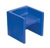 Blue Cube Chair