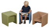 Children's Factory  Cube Chairs - 7 Colors, CF910-0xx