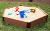 Hexagon Wooden Sandbox Kit 1