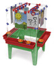 "Childbrite Toddler 4 Station Space Saver Easel - 18"" Tall 1"