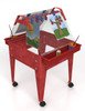 Childbrite Youth Basic Easel w/ Casters in Blue or Sandstone 2