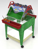 "Childbrite Youth Mobil Sand and Water Activity Center Easel - 24"" Tall 1"