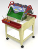 "Childbrite Youth Mobil Sand and Water Activity Center Easel - 24"" Tall 2"