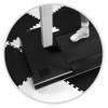 Black Premium Soft Floor Foam Tiles - 10' x 10', BK-SF-IE