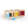 Guidecraft Peekaboo Lock Boxes: Set of 6