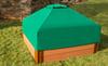 Telescoping Square Sandbox Canopy & Cover 1