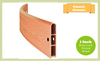 """Classic Sienna Curved Composite Raised Bed Board, 1"""" profile, 300001004"""