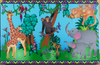Playscapes Animal Families Wall Mural, 30-SML-JNS