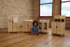 TrueModern® Play Kitchen 4 Piece Set 2