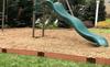 "Classic Sienna Straight Playground Border 16' – 1"" Profile"