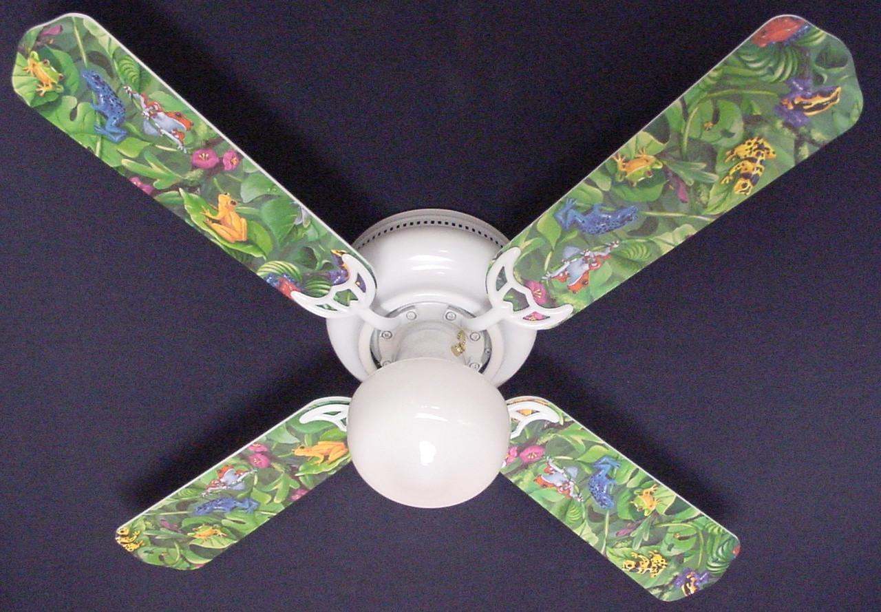 42 tropical ceiling fans lowes tropical rainforest frogs frog ceiling fan 42