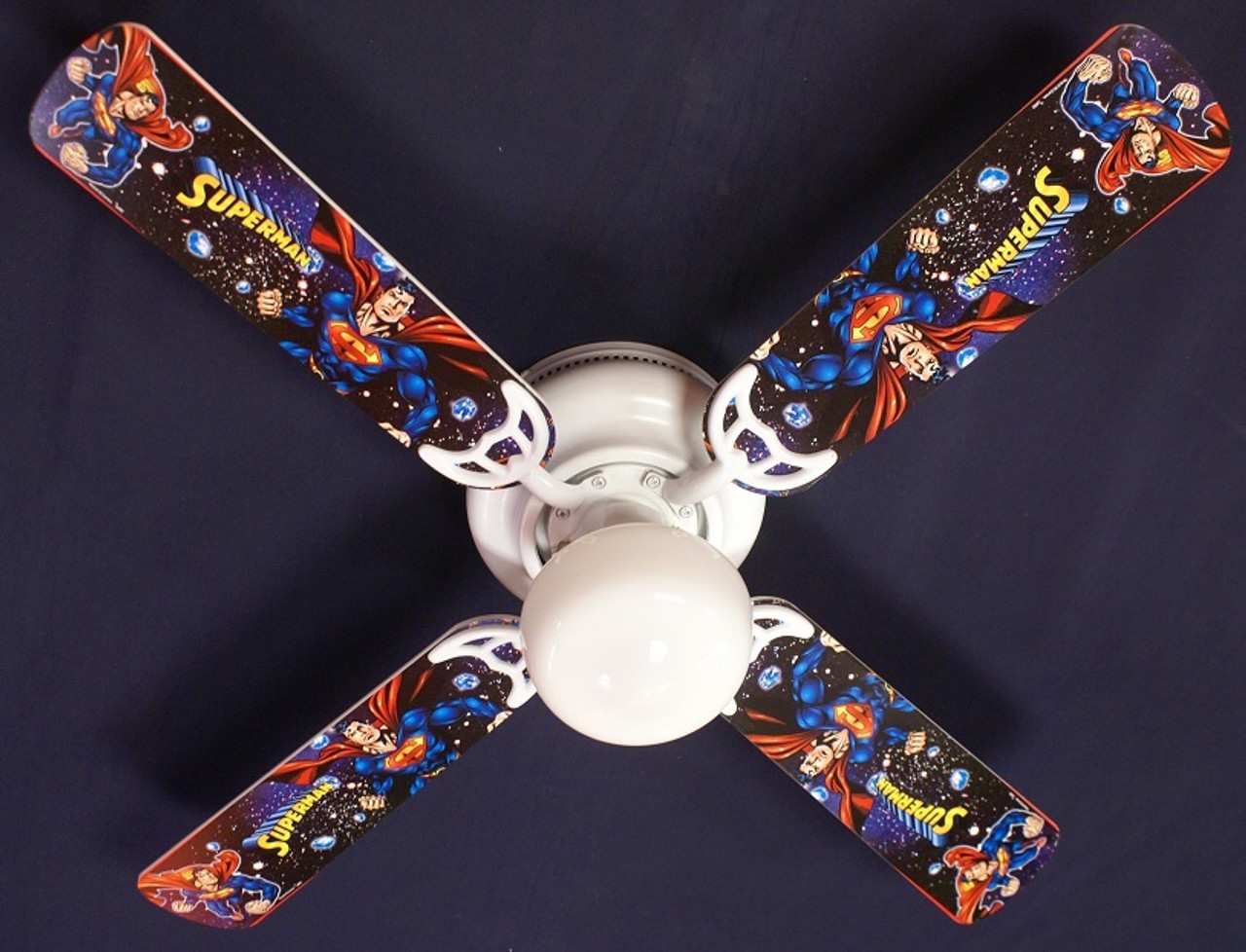 Ceiling Fan Designers 42SET-KIDS-AVNG 42 in Avengers Marvel Capitan America ...