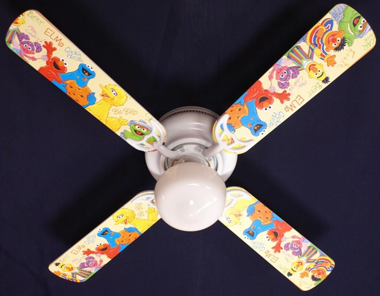 Sesame Street Elmo Big Bird Ceiling Fan 42