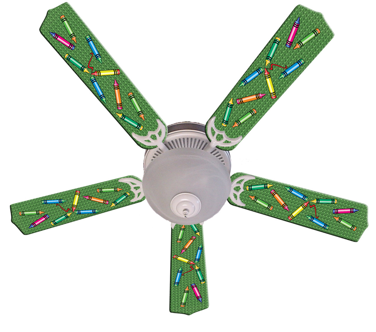Kids Colorful Crayons Ceiling Fan 52 Ceiling Fans Kids Room Decor