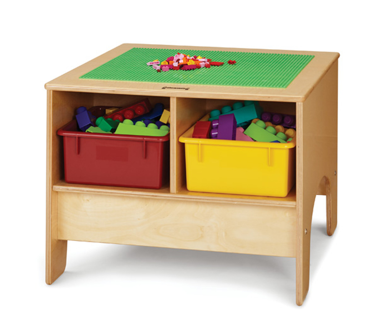 Traditional Brick Compatible Jonti-Craft 5726JC Deluxe Building Table