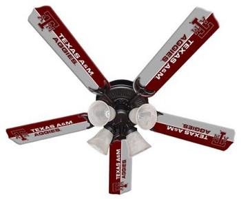 "NCAA Texas A&M Aggies 52"" Ceiling Fan"