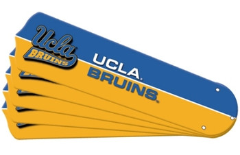 "NCAA UCLA Bruins Ceiling Fan Blades For 52"" Fans"