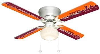 "NCAA Virginia Tech Hokies 42"" Ceiling Fan"