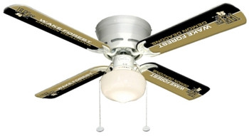 "NCAA Wake Forest Demon Deacons 42"" Ceiling Fan"