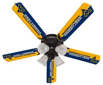 "NCAA West Virginia Mountaineers 52"" Ceiling Fan"