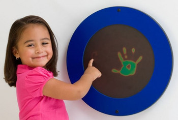 Blue Magic Circle Wall Activity