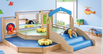 HABA Gemino + Toddler Play Area
