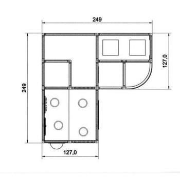 HABA Gemino+ Porthole Crawl I Platform Loft 1