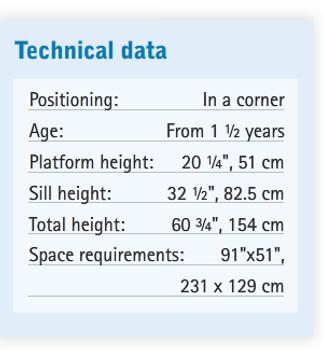 HABA Gemino+ Up + Down Safety Barrier Loft, 259022