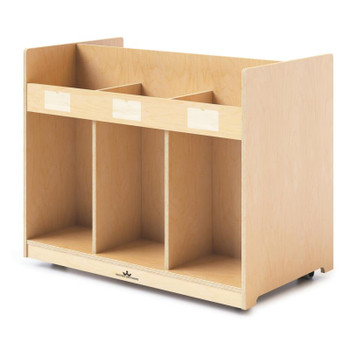 Mobile Library Book Cabinet 1
