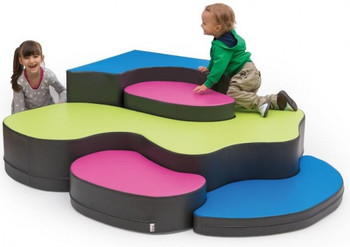 Corner Puzzle Soft Seating Set