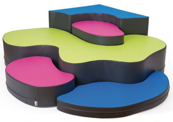 Corner Puzzle Soft Seating Set 1