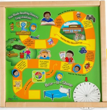 Healthy Race Magnetic Wall Game