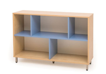 Blue Infuse Color Short Wall Cabinet