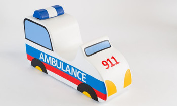 Ambulance Sit-Upon Ride On