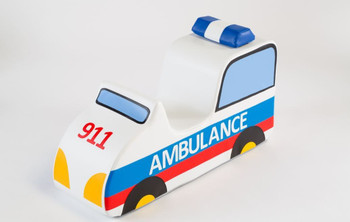 Ambulance Sit-Upon Ride On 1