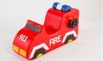 Fire Truck Sit-Upon Ride On