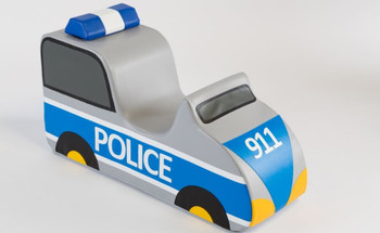Police Car Sit-Upon Ride On 1