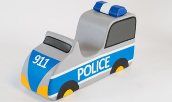 Police Car Sit-Upon Ride On