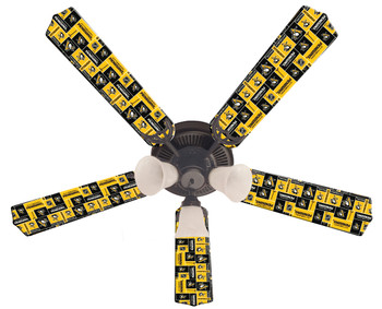 Pittsburgh Penguins Hockey Ceiling Fan 52""