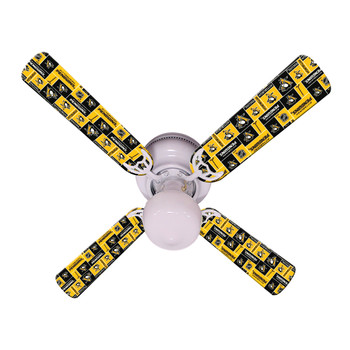 Pittsburgh Penguins Hockey Ceiling Fan 42""