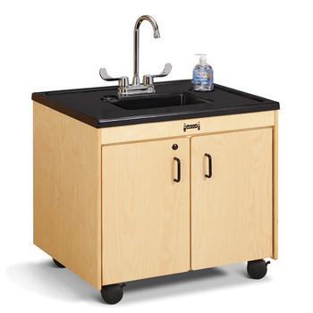 "Clean Hands Helper Portable Plastic Sink - 26"" Counter"