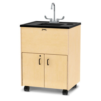 "Clean Hands Helper Portable Sink - 38"" Counter - Plastic Sink"