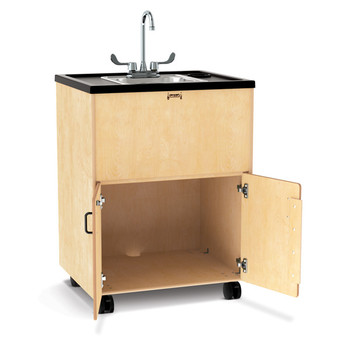 "Clean Hands Helper Portable Sink - 38"" Counter - Stainless Steel Sink - Plumbing Required"