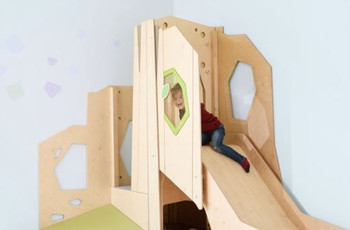 HABA Grow.upp Hedgehog Castle Loft, 341156 or 341157