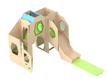 HABA Grow.upp Monkey Slide Loft, 341158 or 341161