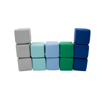 Toddler Baby Blocks – Contemporary Set of 12 1