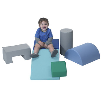 Climb and Play 6 Piece Play Set – Contemporary 1