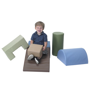 Climb and Play 6 Piece Play Set – Woodland 1